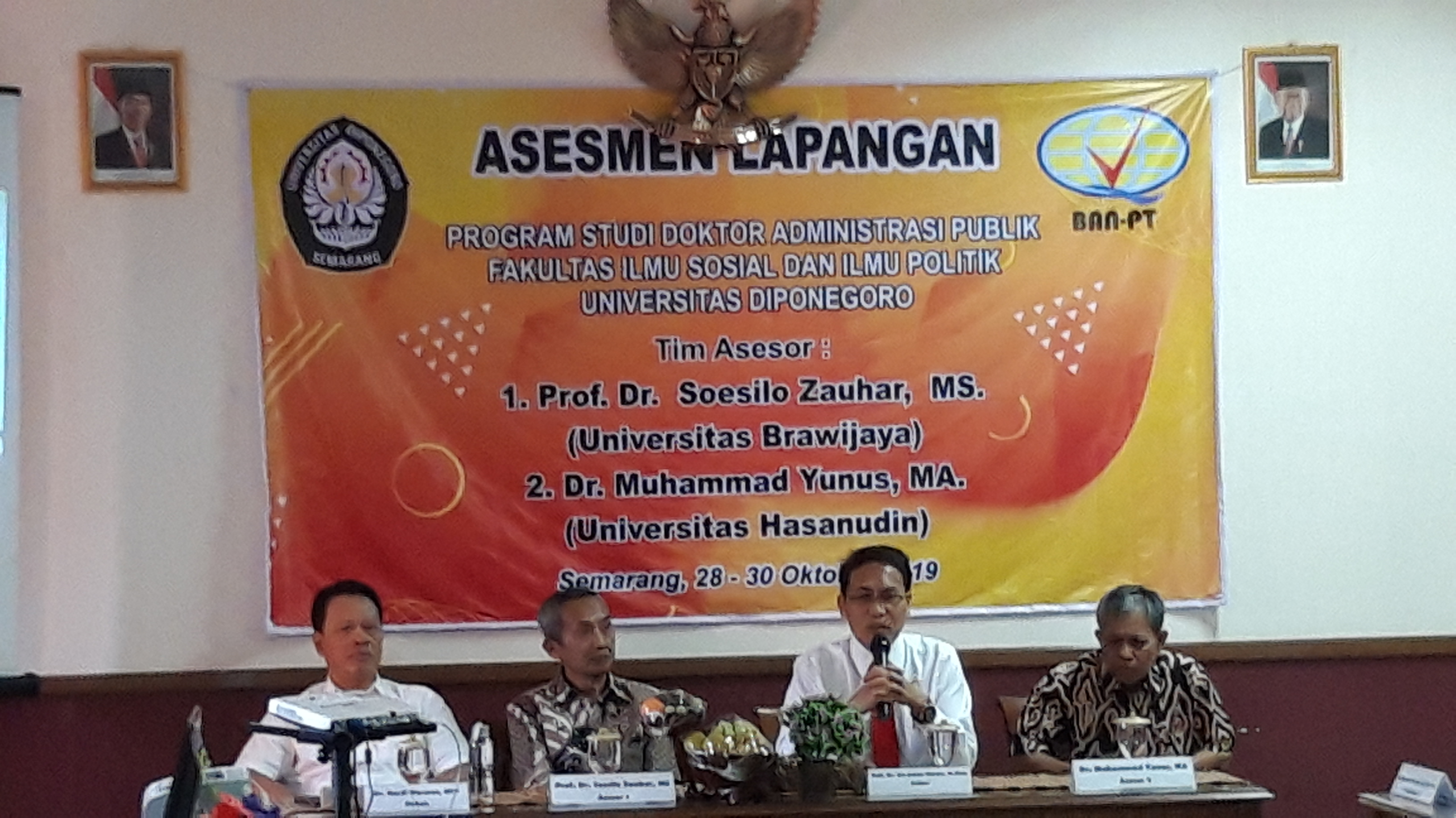 Visitasi Asasmen Lapangan Doktor Administrasi Publik
